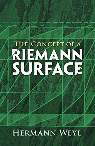 The Concept of a Riemann Surface (Dover Books on Mathematics) by Hermann Weyl (2009-03-26)