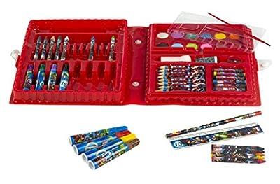 ColorBaby - Maletín con rotuladores, ceras y lápices para pintar
