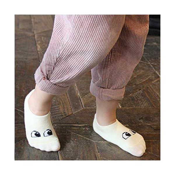 ZOOMY Primavera y Verano Calcetines Cortos de Dibujos Animados para niños Smiley Pattern Kids Baby Sock 4
