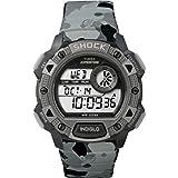 Timex TW4B00600 Orologio da Polso, Quadrante Digitale da Uomo, Cinturino in Resina, Grigio
