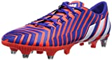 adidas Predator Instinct SG Herren Fußballschuhe, Mehrfarbig (Solar Red / Ftwr White / Night Flash), 44 2/3