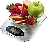 Neueste Küchenwaage für Essen - Gewichtsbeschränkung 5kg - Multifunktions-elektronische digitale Waage für Backen & Kochen - Messen Sie perfekt Flüssigkeiten und trockene Zutaten - Von LCZ