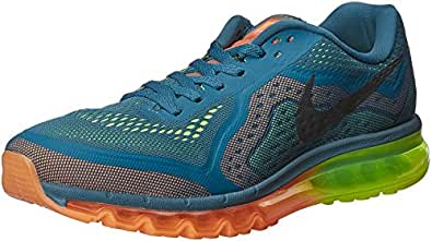 Nike Men's Air Max 2014 Black Running Shoes - 9.5 UK/India (44.5 EU)(10.5 US)