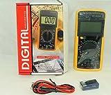 DT9205A - Multimetro digitale, voltmetro, polimetro, kit completo di cavi e batteria