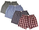 Lot de 4 boxers homme Fabio Farini, 100% cotton Muticolore,Set 9,XL