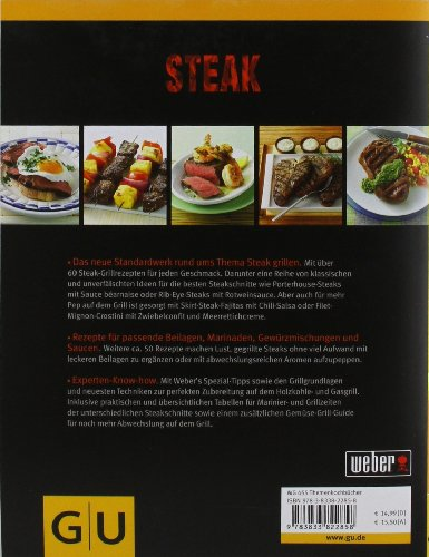 51%2BEcaFGyYL - Weber's Grillbibel - Steaks (GU Weber's Grillen)