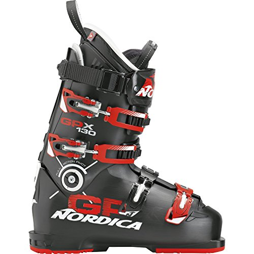 Nordica Herren 050F1000-741 Skischuh GPX 130 Black/Red - MP 29,0 -