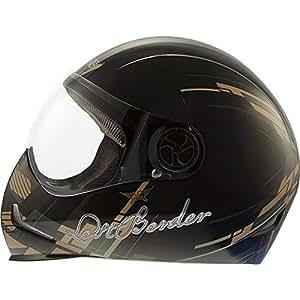 Bikzspare Sb-Adonislostborder Steelbird Adonis Lost Border Full Face Helmet (Black:Miltary)