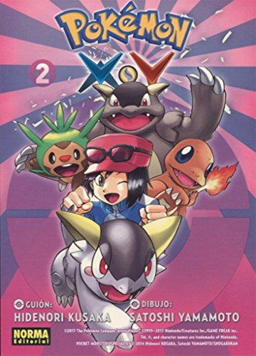 Pokemon X-Y 2 por Satoshi Yamamoto Hidenori Kusaka