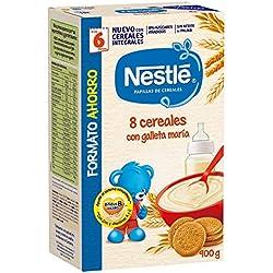 Nestlé Papilla 8 cereales con galleta María, Alimento Para bebés - 900 gr