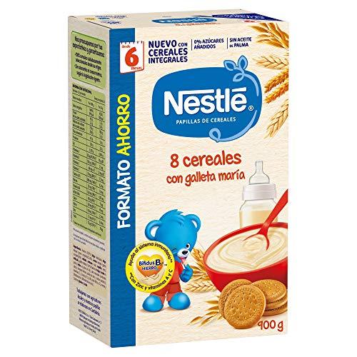 Nestlé Papilla 8 cereales con galleta María