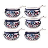 Craftghar: Soup Bowls Set (Ceramic 6 Bow...