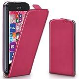 Nokia Lumia 530 Hülle Pink [OneFlow 360° Klapp-Hülle]