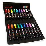 POSCA Farbgebung–pc-1m und 1MR–Essential Set von 20–in Limited Edition Canvas Wrap