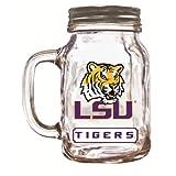 NCAA LSU Tigers Mason Jar, 20-Ounce
