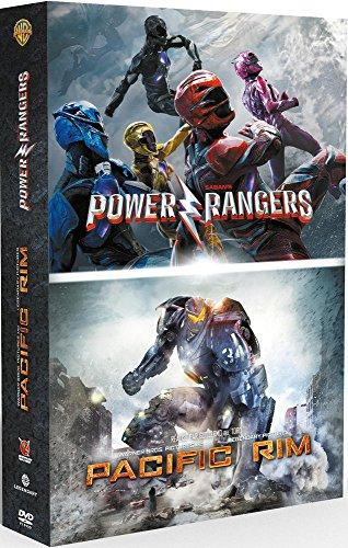 Coffret 2 films : power rangers ; pacific rim [FR Import]