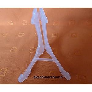 10 Stück Ständer für Taschenuhren, Taschenuhrenständer, Dreieck-Aufsteller Maße: Höhe 50 x Breite 45 x Tiefe 35 mm