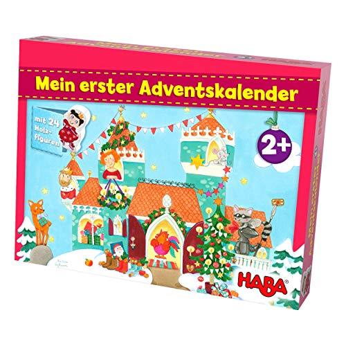 HABA Mein erster Adventskalender Prinzessinenschloss, für Kinder ab 2 Jahren