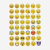 MagiDeal 20 Blätter Sterben Schnitt Emoji Aufkleber Für Telefon-Laptop Dekor Vergleich
