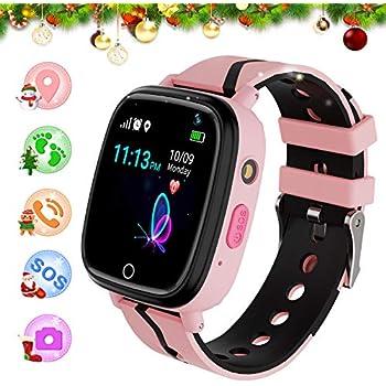 Niños GPS Reloj Inteligente Teléfono Paso Podómetro Rastreador ...
