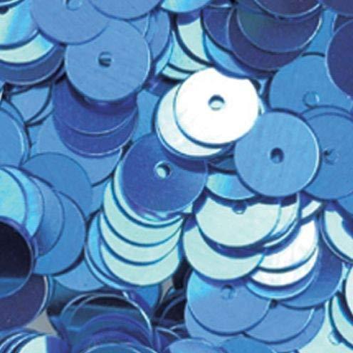EFCO - Pailletten, rund, flach lose ø 6 mm hellblau