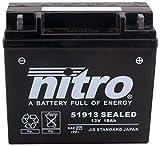 NITRO 51913 SEALED -N- Batteries, Schwarz (Preis inkl. EUR 7,50 Pfand)