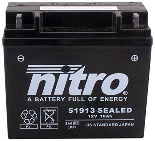 Nitro 51913acido-N. batteria moto chiuso