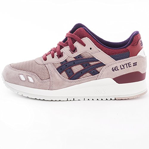 asics Gel-Lyte III Schuhe Herren Sneaker Turnschuhe Rosa H62RQ 0533 Rosa