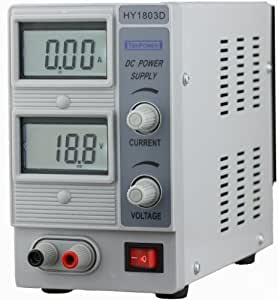 Tekpower HY1803D Variable DC Power Supply, 0-18V @ 0-3A Portable Consumer Electronic Gadget Shop