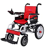 ACEDA Heavy Duty Electric Wheelchair, Foldable And Lightweight Powered Wheelchair,Seat Width 45Cm, 360° Joystick, Weight Capacity 150KG