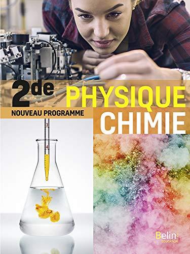 Physique chimie 2de 2019 Manuel élève