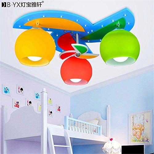 BRIGHTLLT El molino de viento de la iluminación de la sala infantil...