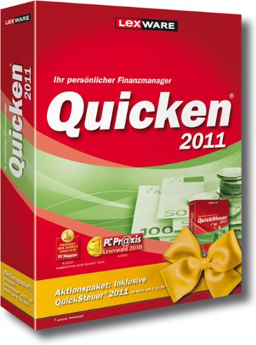 Quicken 2011 Vorteilsedition (inkl. Quicksteuer 2011)