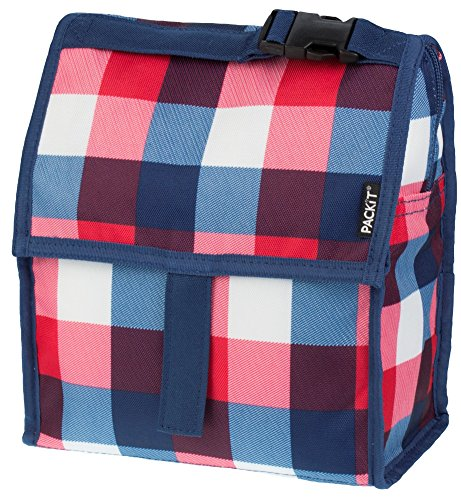 PackIt Bolsa para Almuerzo congelable, Buffalo Check