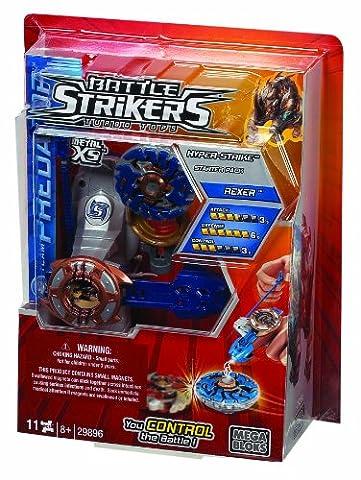 Toupie Beyblade Aquario - Battle Strikers Metal Xs Hyper Strike -