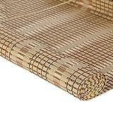 JU FU Rollo Bambus Vorhang - natürliche Nanmu Kordelzug Bambus Vorhang staubdicht und Wasserdicht Hohlen Tee Zimmer Shutter [4 Farben 9 Größen] @ (Farbe : A, größe : 90x200cm)