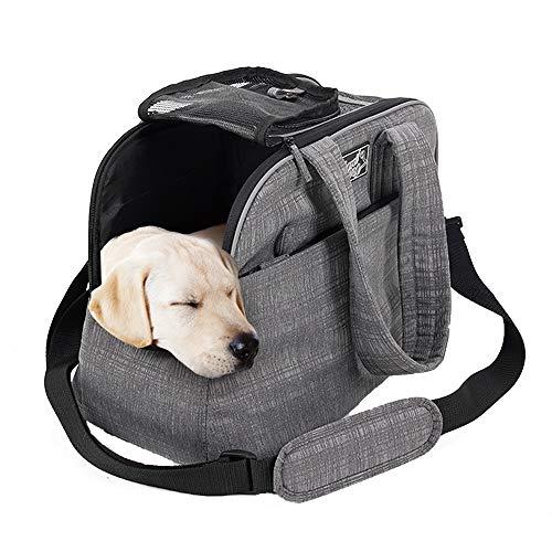 All For Paws Pet Travel Vettore Portatile Borsa da Viaggio per Cucciolo Gatti e Piccoli Animali Compagnia Aerea Approvato