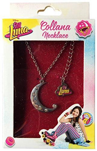 Memory Technology ED80151 - Collar de Soy Luna con Colgante en Forma de Luna con Brillantes