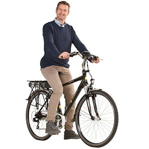 Toppedo de aluminio s de trekking bicicleta eléctrica Hombre, 28pulgadas, batería Potencia 10Ah...
