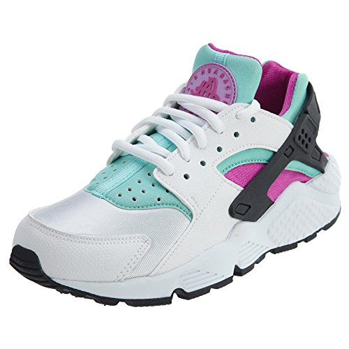 Nike - Air Huarache, Sneakers da donna bianco fucsia flash artigiani verde blu 104