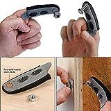 Gaddrt Magnetische Fingerspitze Die magnetische Fingerspitzenhülse gewährleistet, dass Sie niemals eine weitere Schraube auf dem Boden fallen lassen