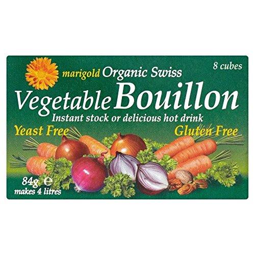 Cubes De Souci Organiques Suisses Levure Végétale Sans Bouillon (De 8X10`5G)