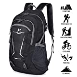 Loocower 45L Packable Ultralight Hiking Backpack, Lightweight Multi-functional Casual Camping Trekking Rucksack Cycling