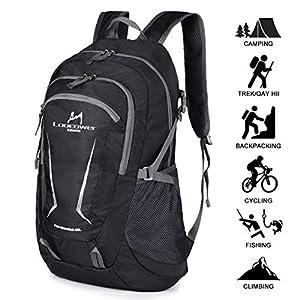 Loocower 45L Leichte Packable Reiserucksack Wanderrucksack, Multifunktionale Tagesrucksack, Faltbare Camping Trekking…