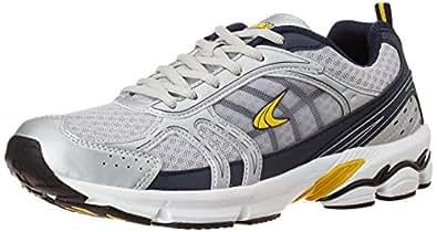 Performax Men's Grey Mesh Running Shoes - 11 UK