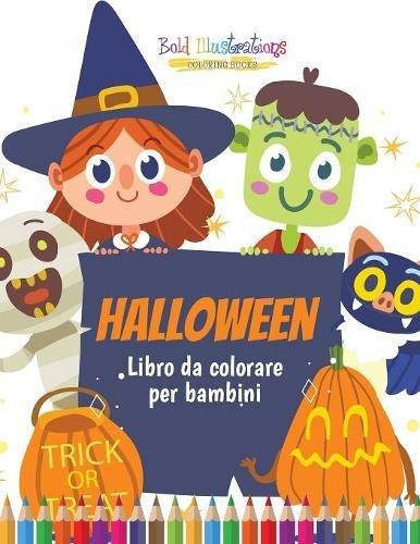 Halloween : Libro da colorare per bambini (Per Bambini Halloween-da-colorare)