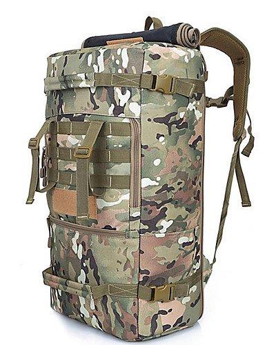 HWB/ 2 L Rucksack Camping & Wandern Legere Sport Multifunktions Schwarz / Armeegrün Oxford Other Camouflage