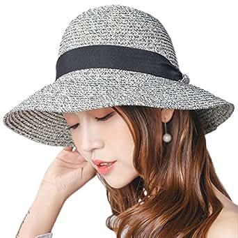 leisial femme capeline melon paille chapeau bob casquette visi res de paille anti soleil. Black Bedroom Furniture Sets. Home Design Ideas