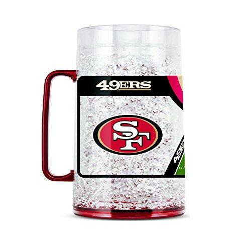 Duck House NFL San Francisco 49ERS Tasse mit Monster aus Kristall, ca. 85 ml Ipod Factory Radio