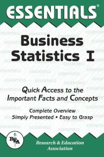 Business Statistics I Essentials (Essentials Study Guides) by Louise Clark (1998-07-30)